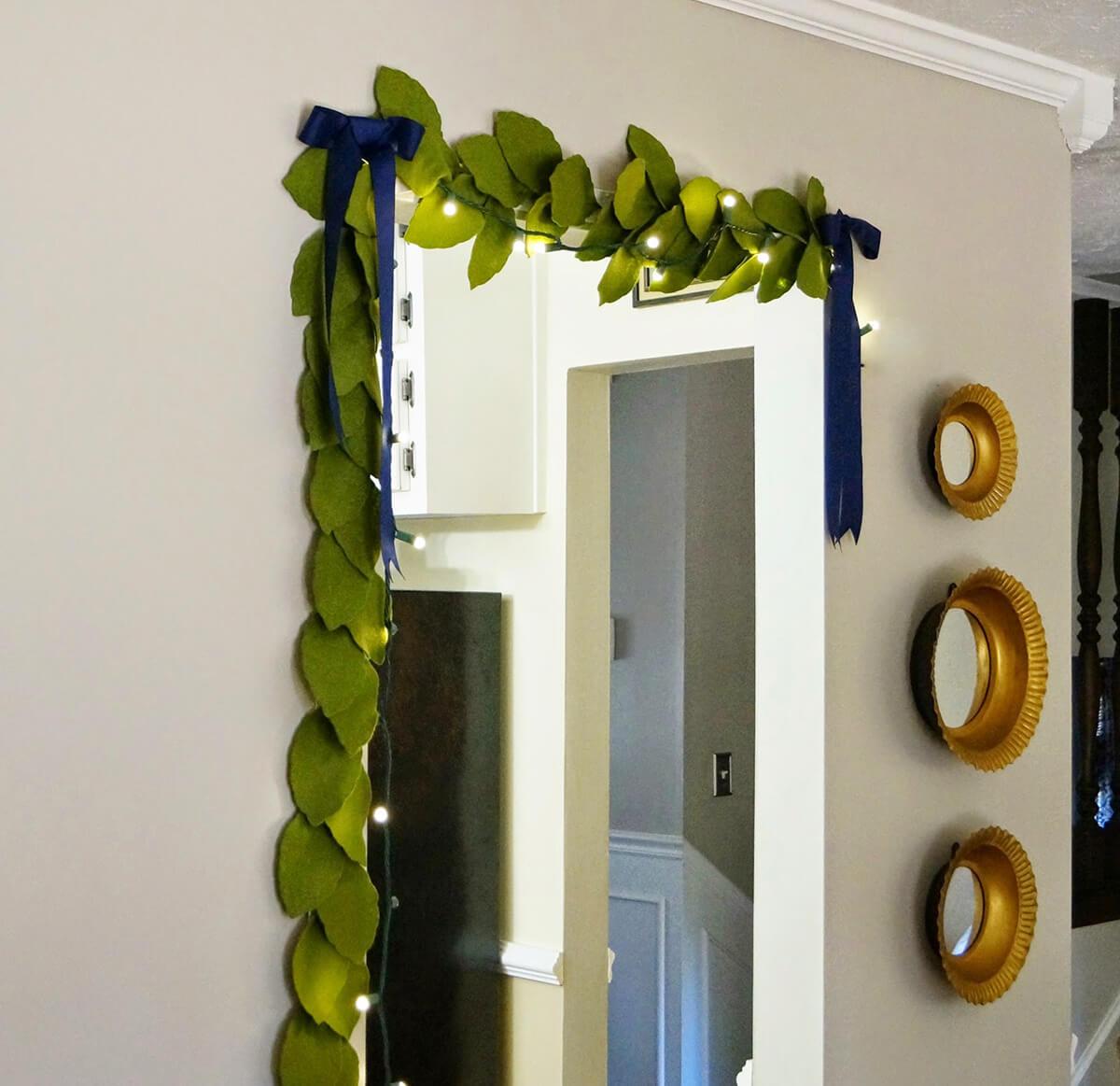 27 entzückende DIY Garland Decor Ideen, die Sie leicht selbst machen können