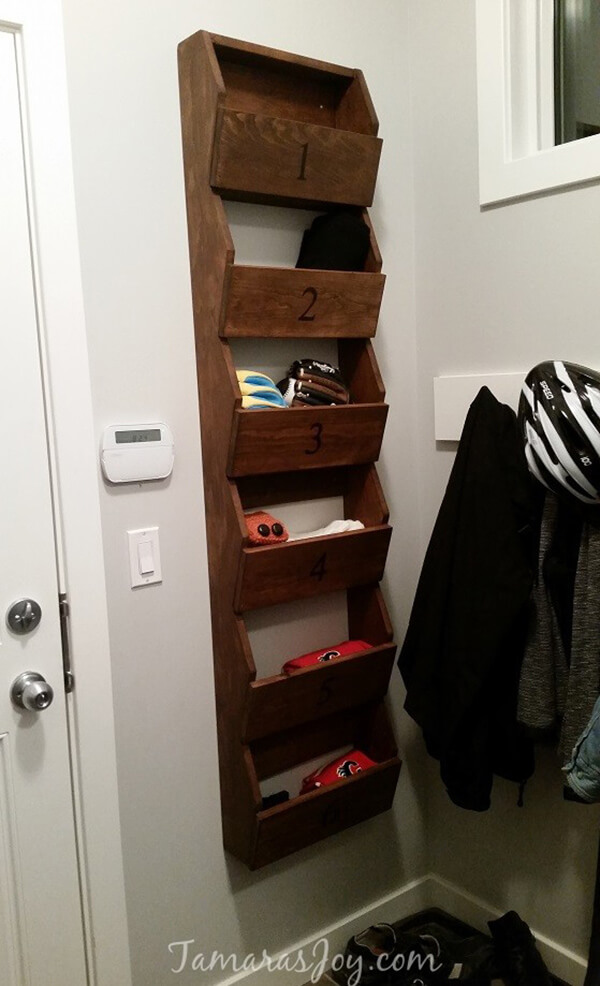 Simple Cute Mitten Storage Rack