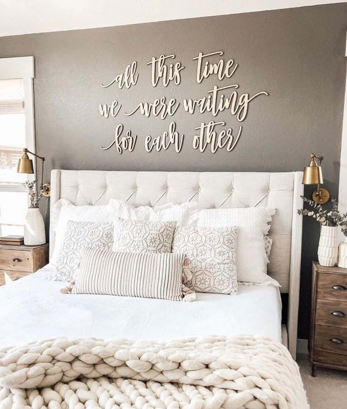 Waiting for Each Other Farmhouse Bedroom