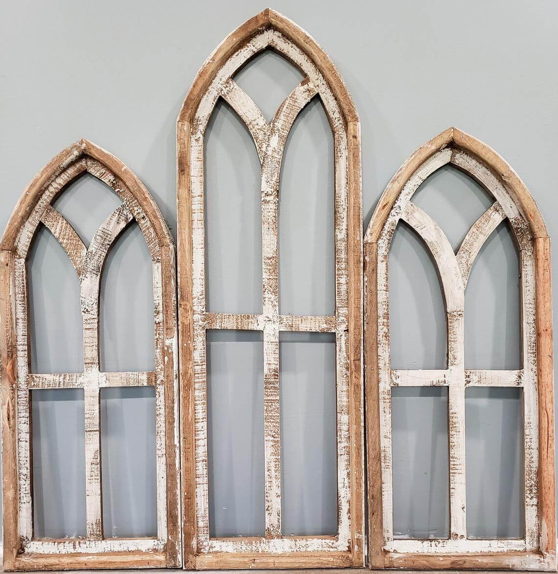 Charming Church Window Inspired Wall Art