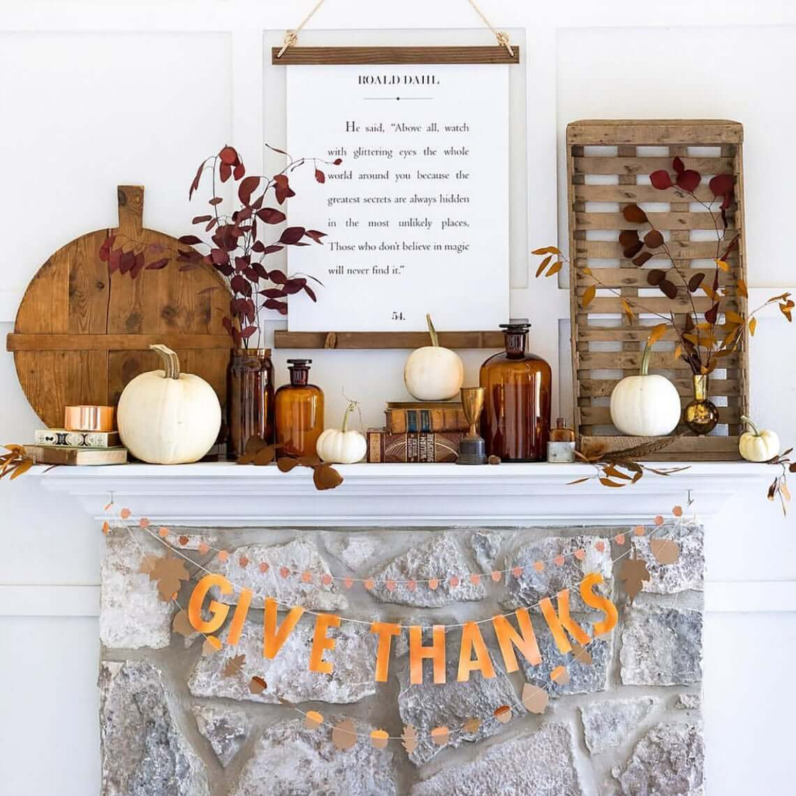 Oranges and Browns Warm the Fall Scene