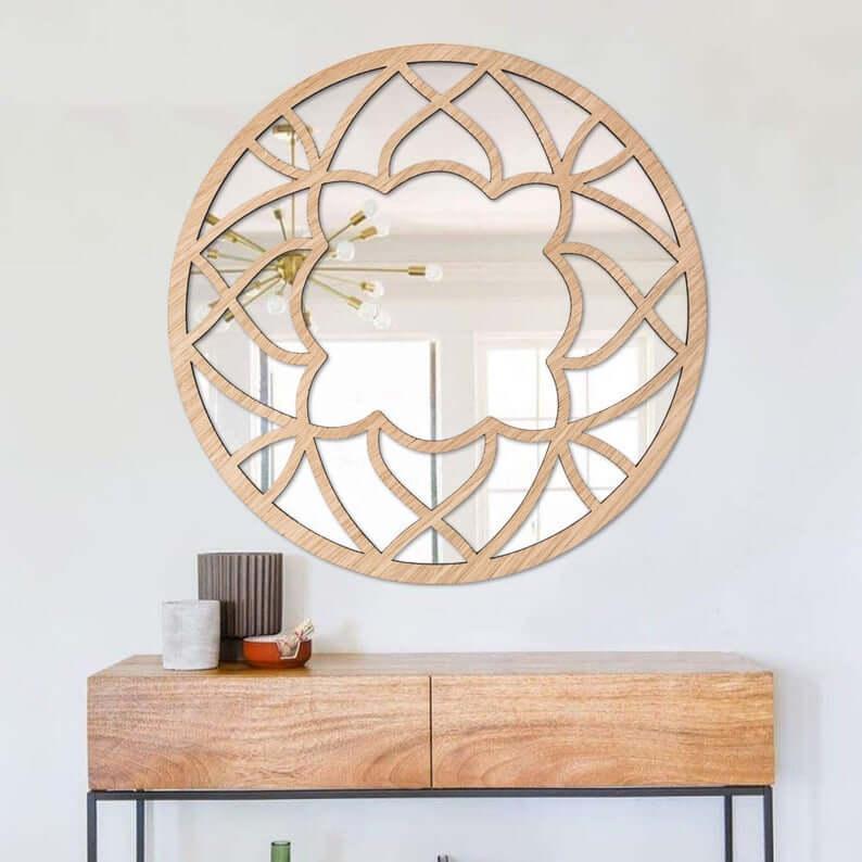 45 Best Mirror Decoration Ideas And, Round Wall Decor Ideas