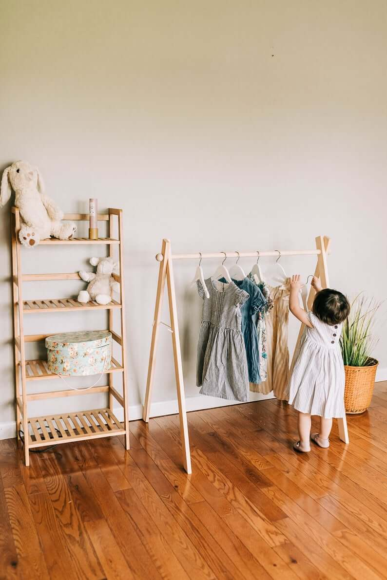 Open Storage for Little Hands