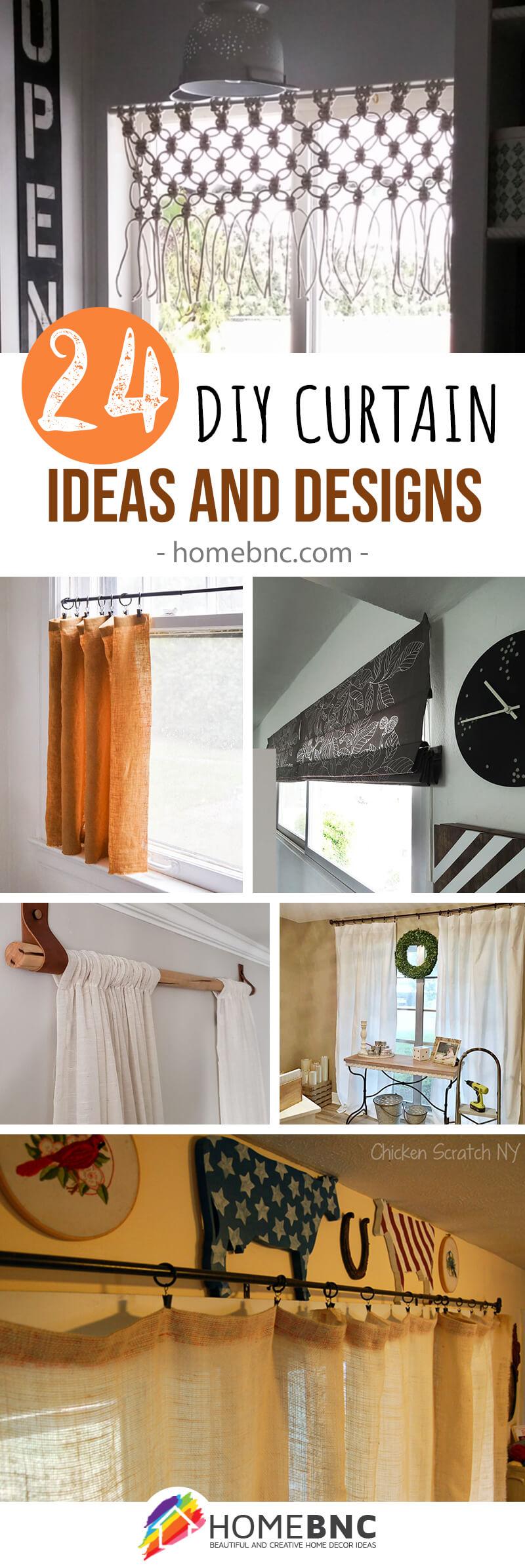 Best DIY Curtain Ideas