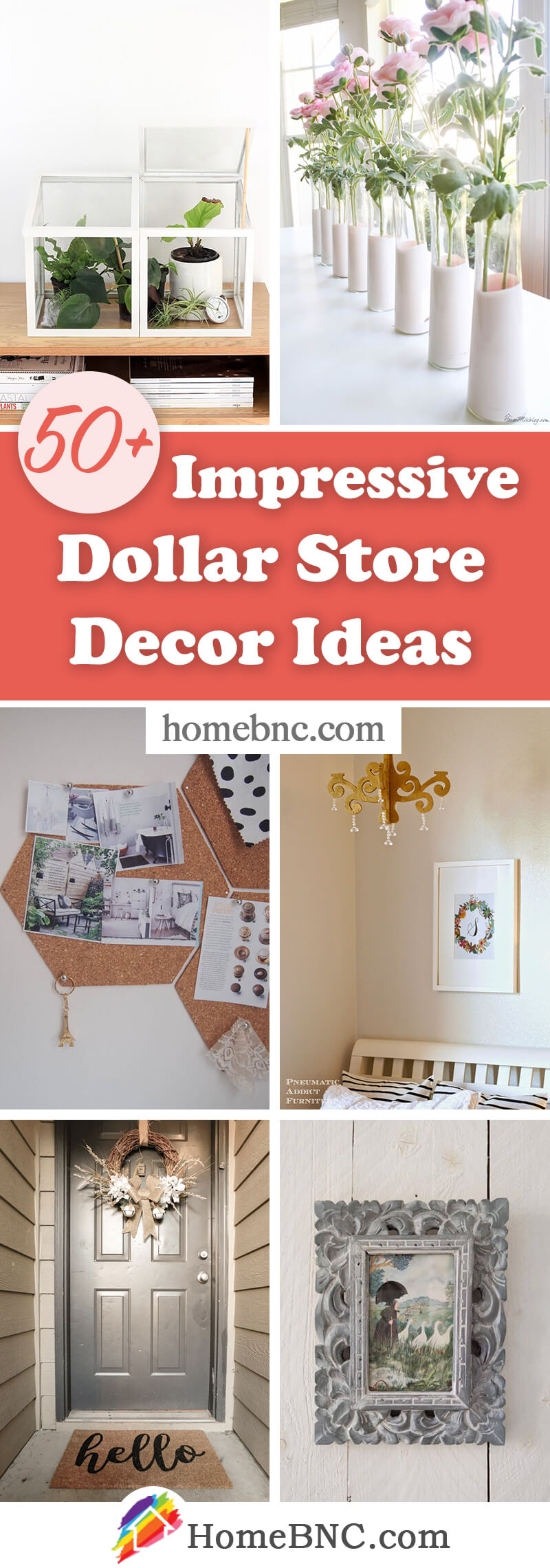 DIY Dollar Store Home Decorations