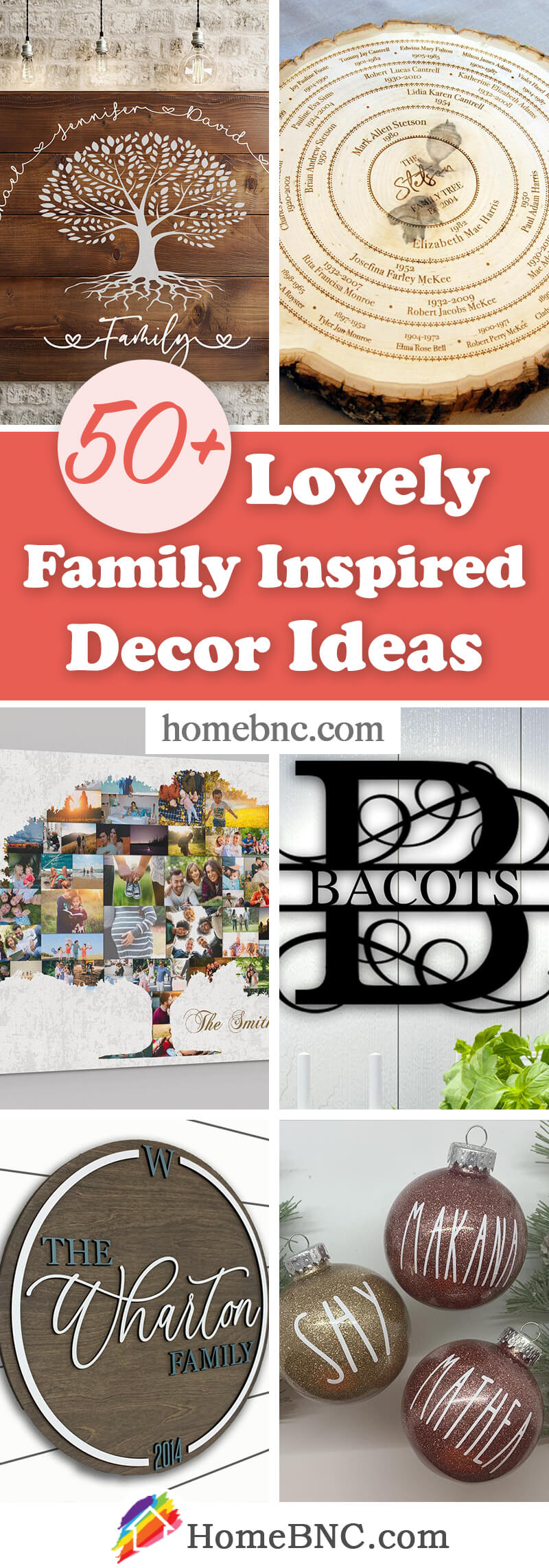 Family Inspired Home Decorations
