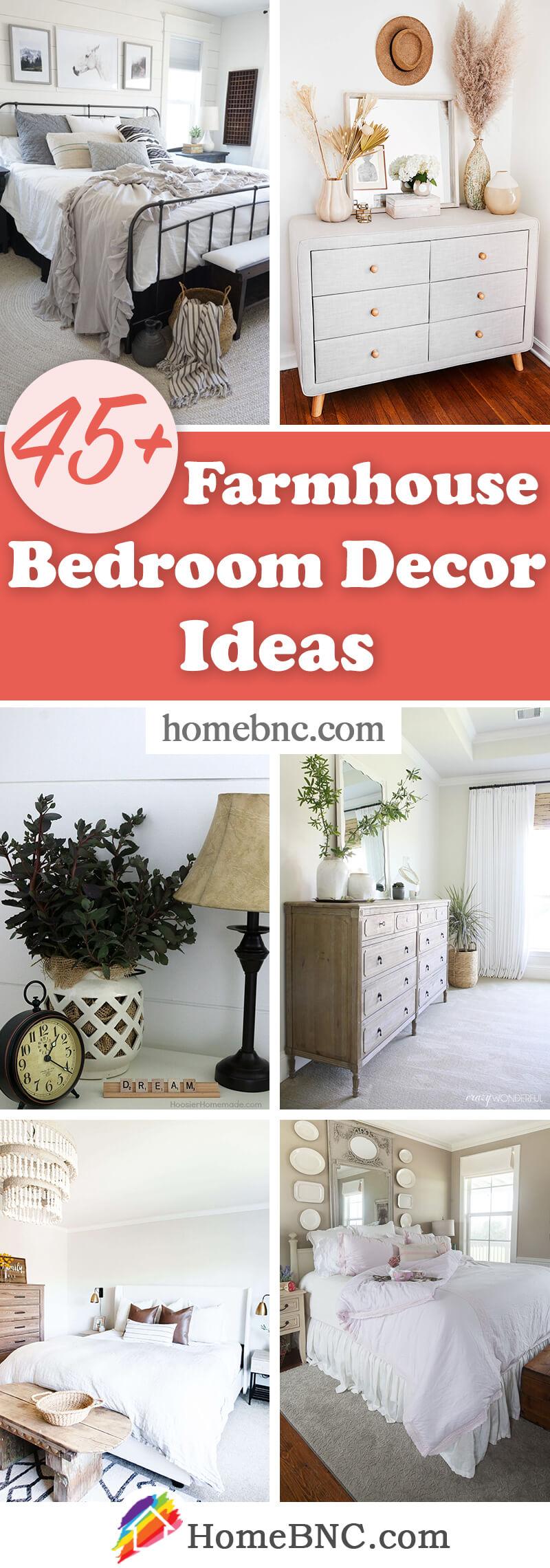 Farmhouse Bedroom Decorations