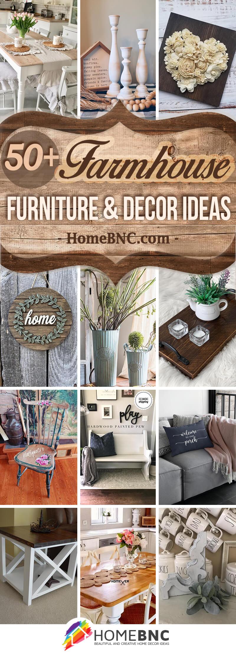 Farmhouse Furniture and Decor Ideas