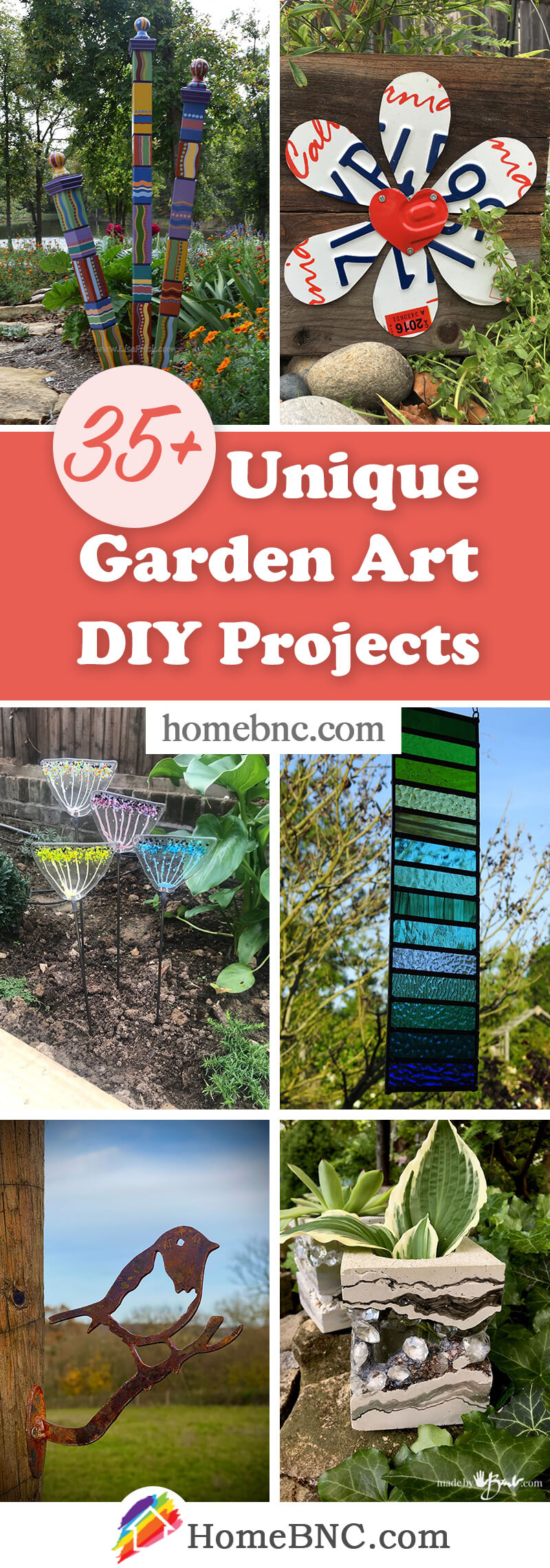 Garden Art DIY Ideas
