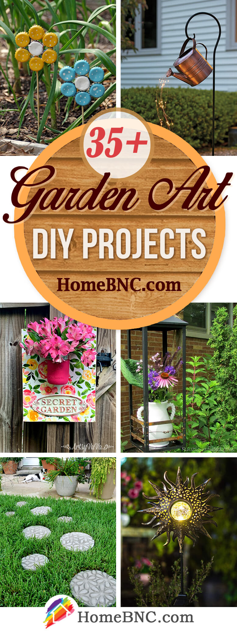 Garden Art DIY Projects
