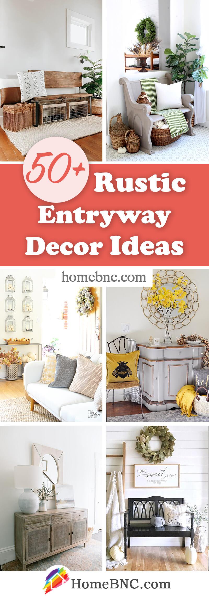Rustic Entryway Decor Ideas