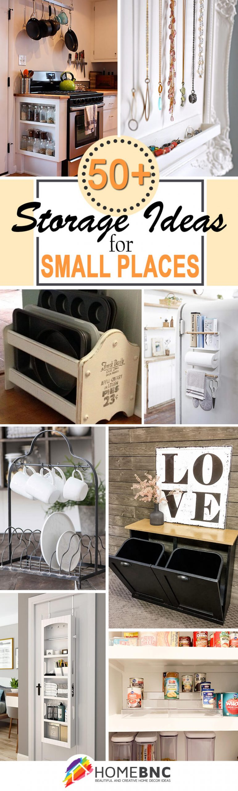 Storage Projects for Small Spaces
