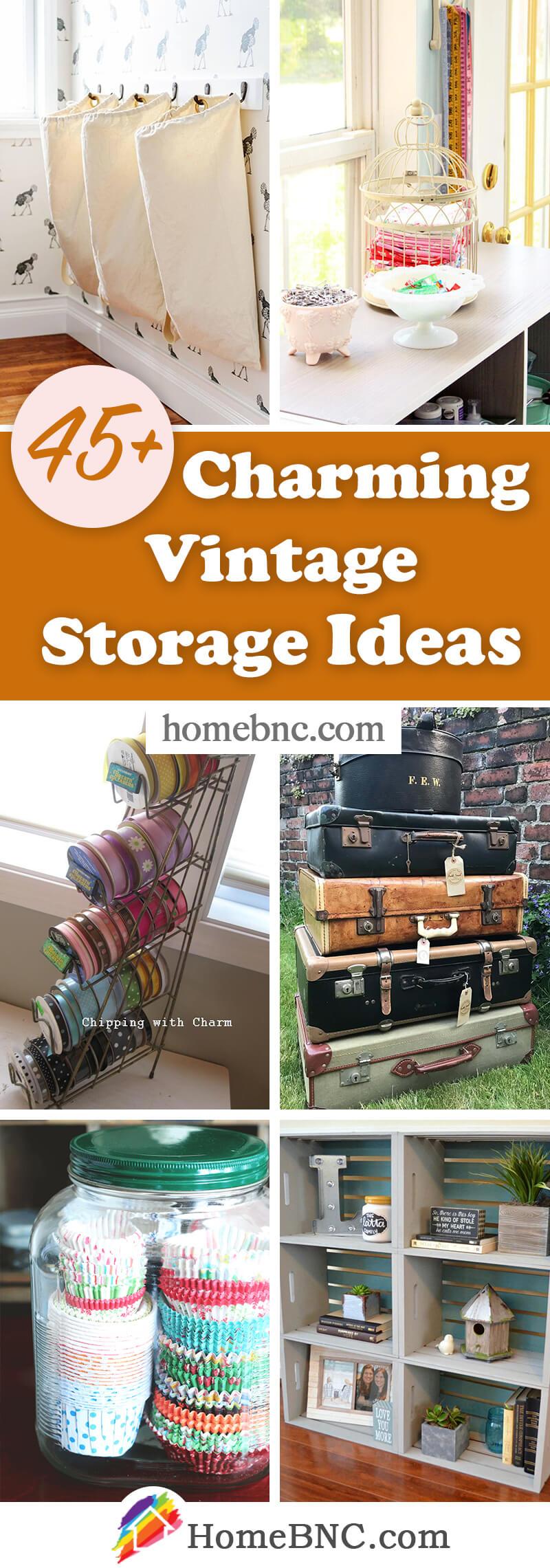 Vintage Organization Ideas