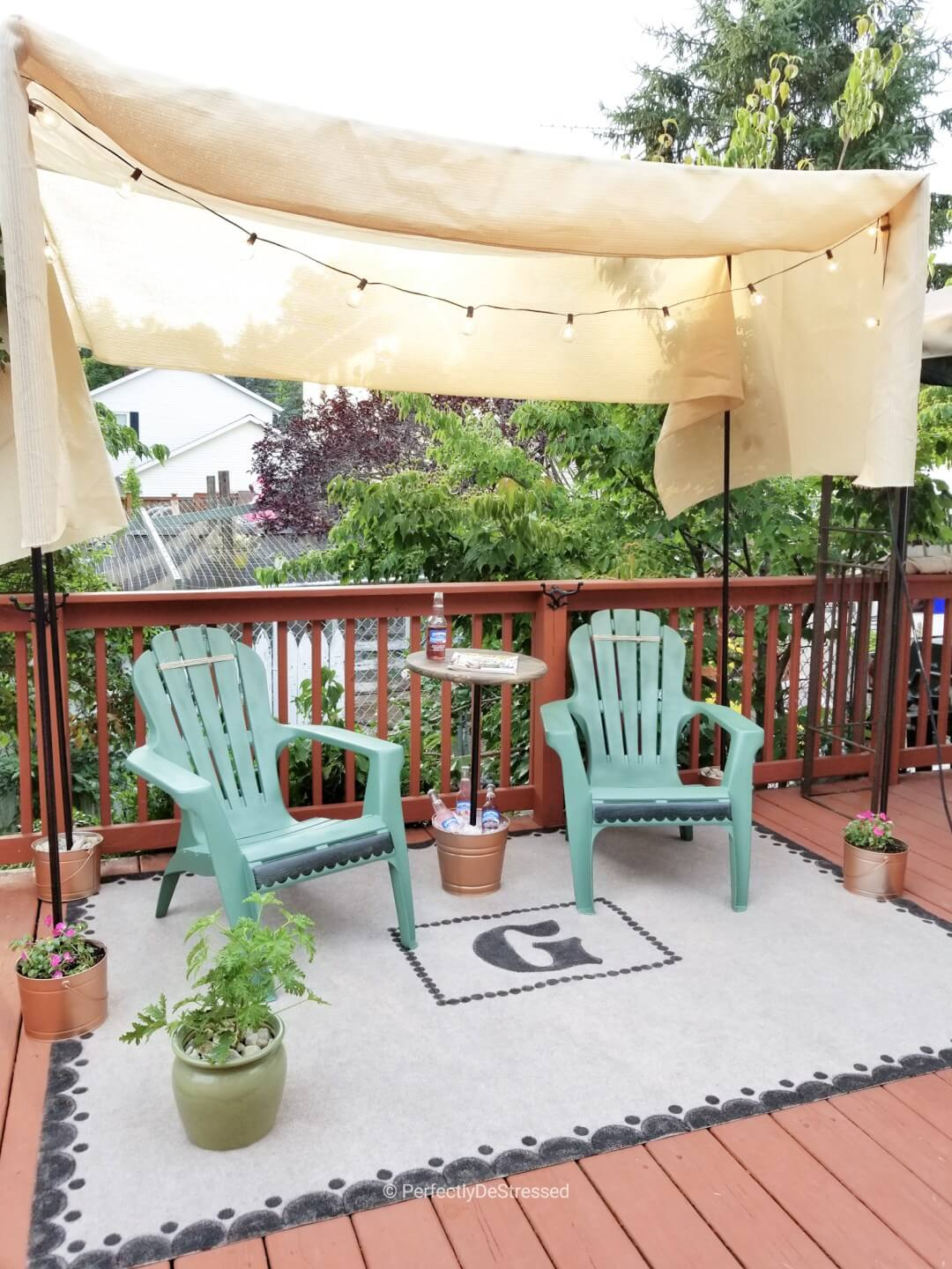 Affordable Patio Chair Renovation Project