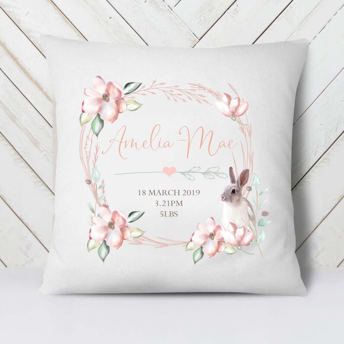 Personalized Baby Cushion for Nursery Decor