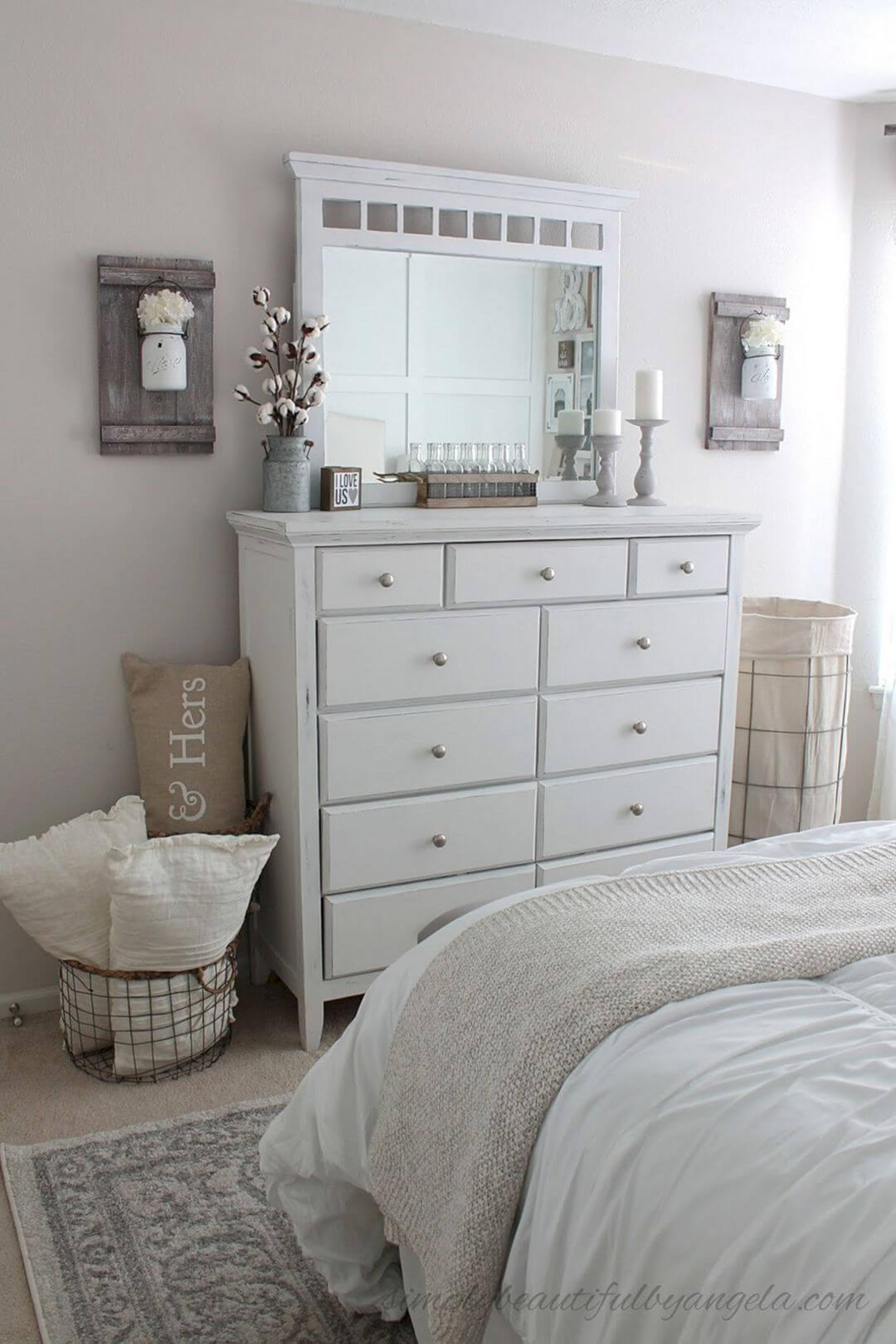 Transforming a Wood Dresser with Rustic Paint