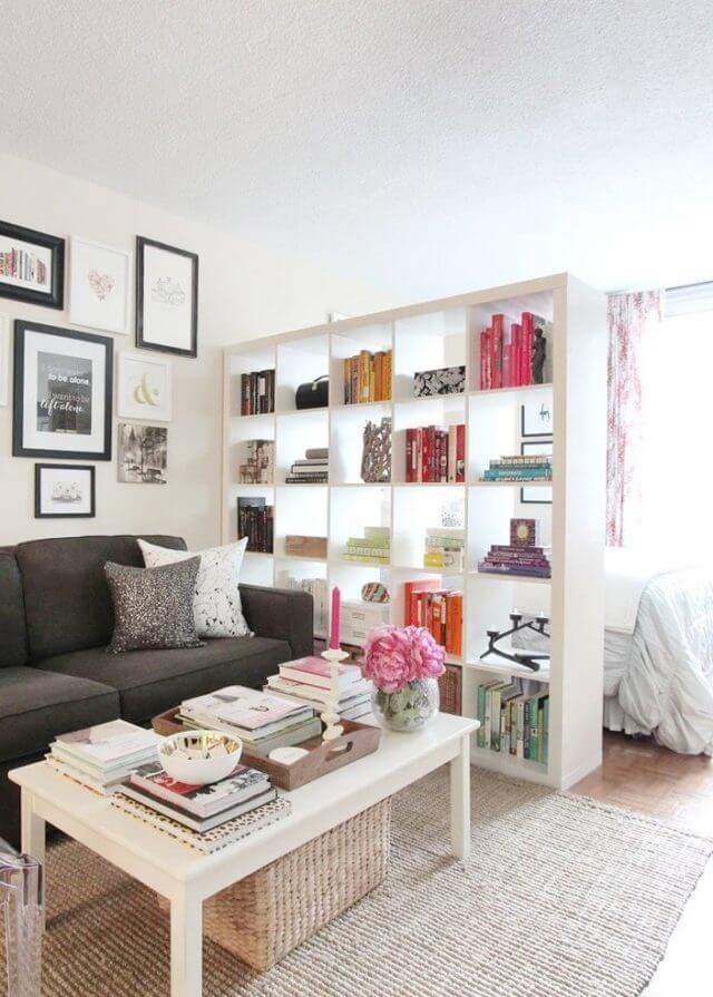 Darling Definition with Bookshelves and Rugs