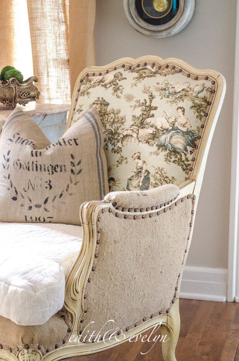 Incredible Vintage French Chair Redesign