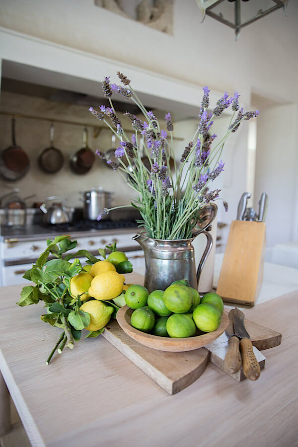 Authentic Watering Can with Lovely Lavender