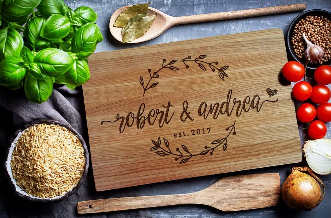 Custom Cutting Board for Kitchen Decor