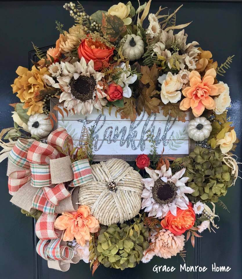 A Cornucopia of a Wreath