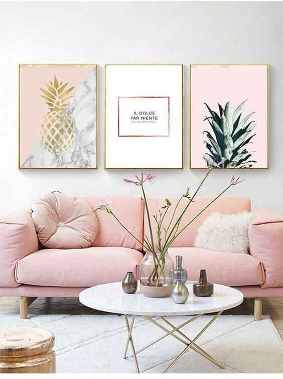 Pretty in Pink (and Pineapples)