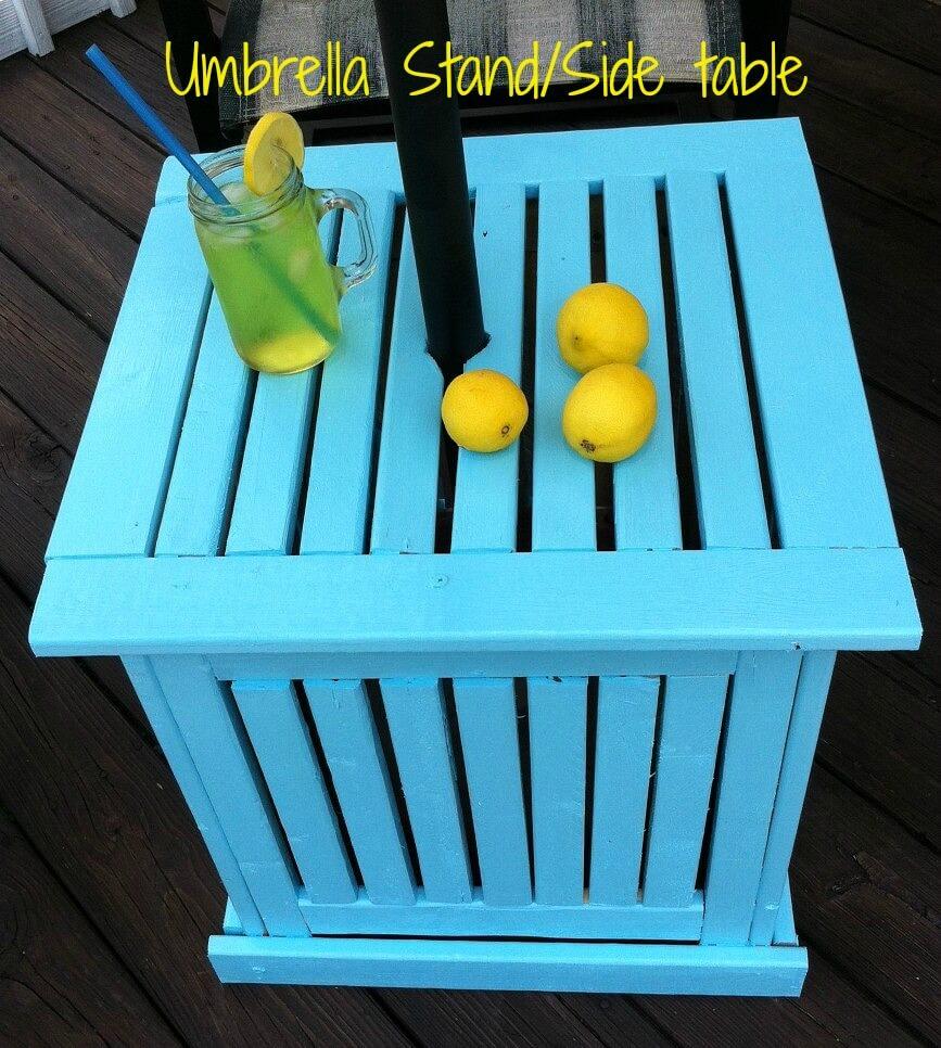 Bright and Sturdy Crate Umbrella Stand