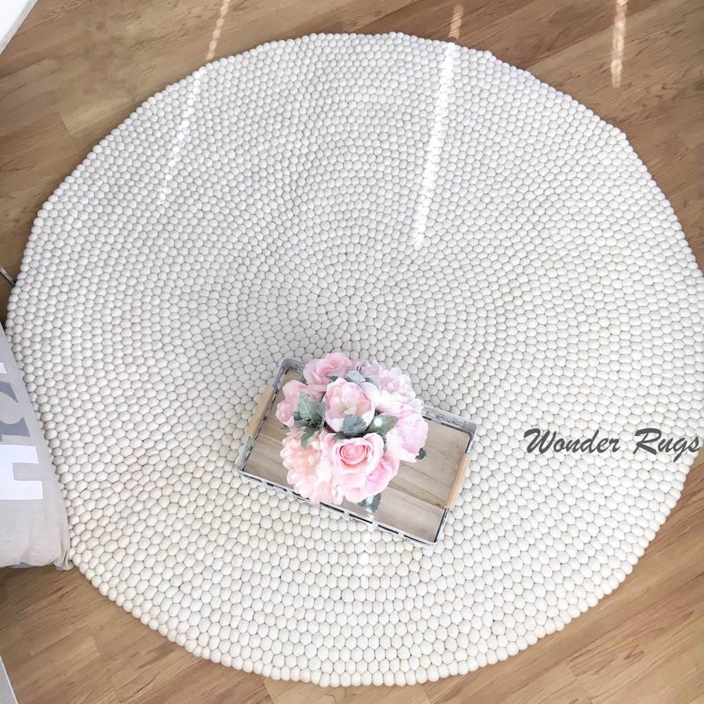 Soft and Adorable Pom Pom Area Rug