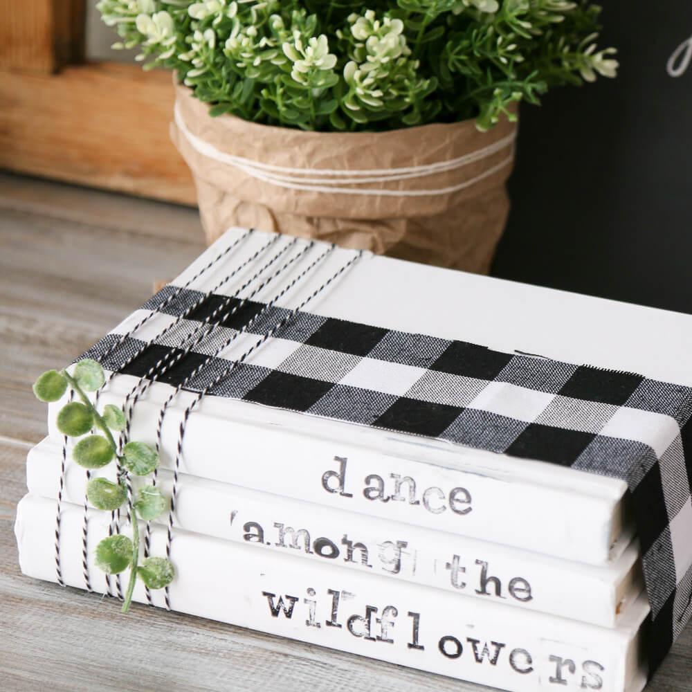 Durable and Gorgeous Buffalo Check Bookshelf