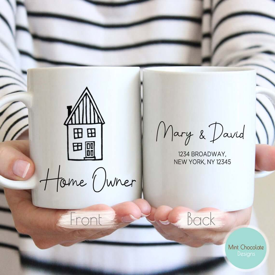 Handmade Custom Mug for the New Homeowner