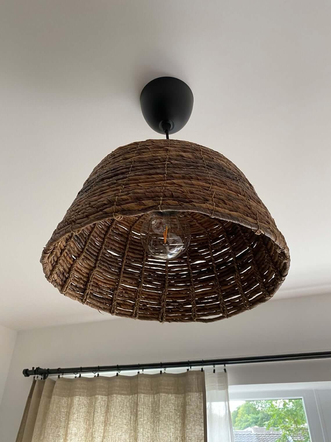 Cool Handmade Natural Rattan Lamp Shade