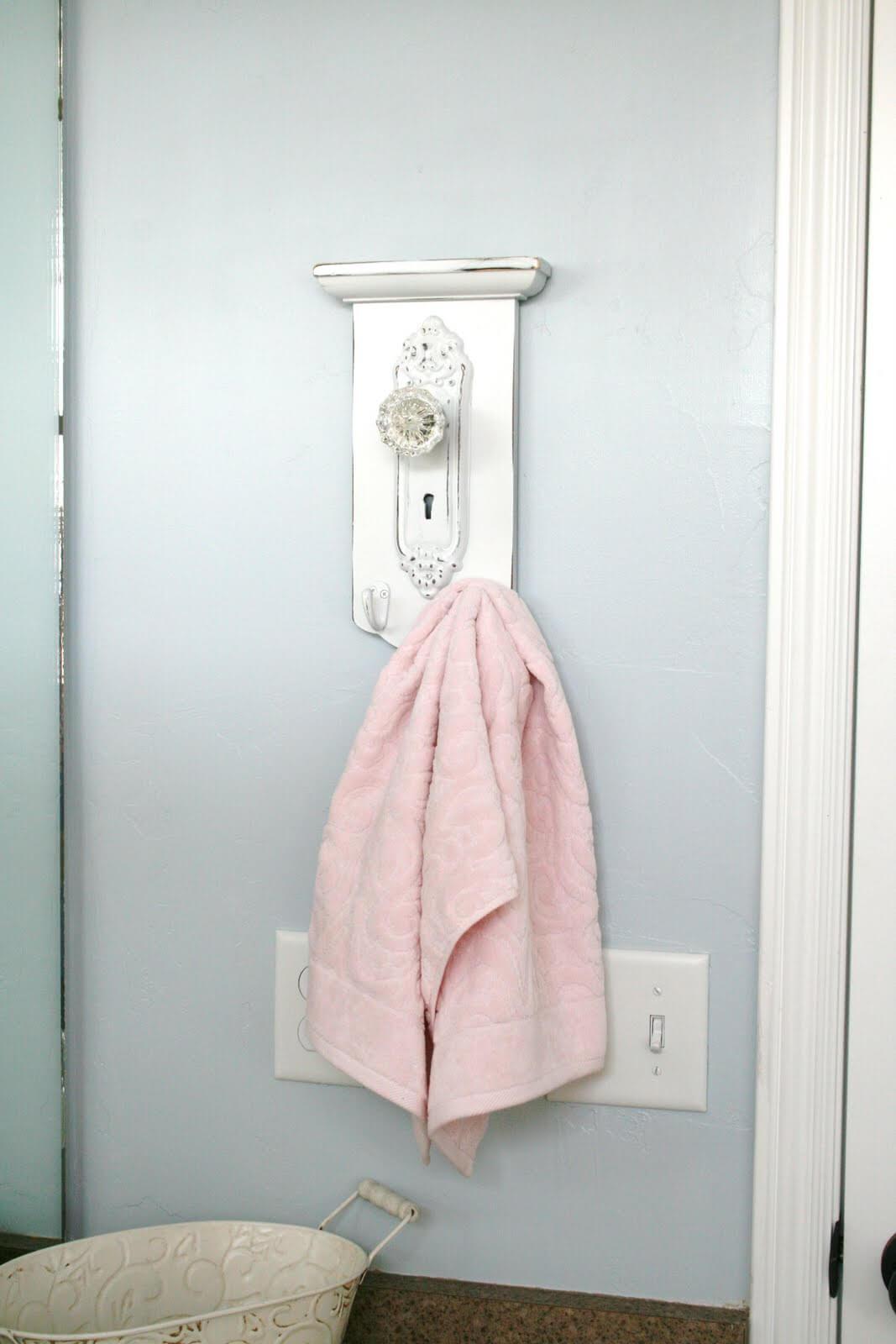 Rustic Elegant Decorative Towel Hanger