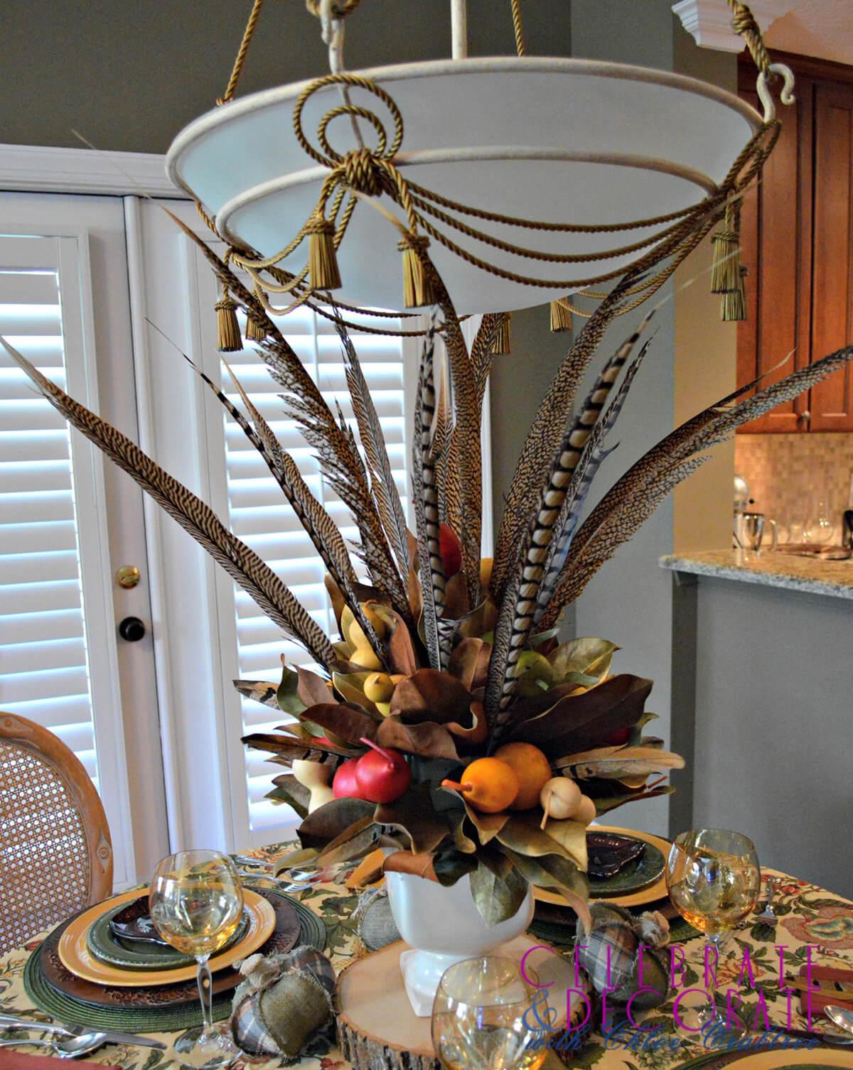 Thanksgiving Natural Powerhouse Fall Centerpiece