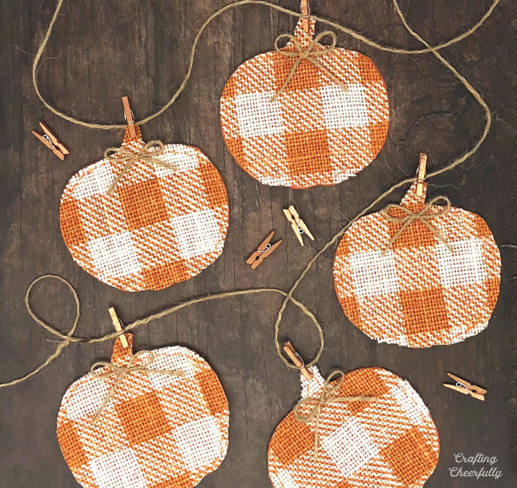 Colorful and Rustic Pumpkin Banner