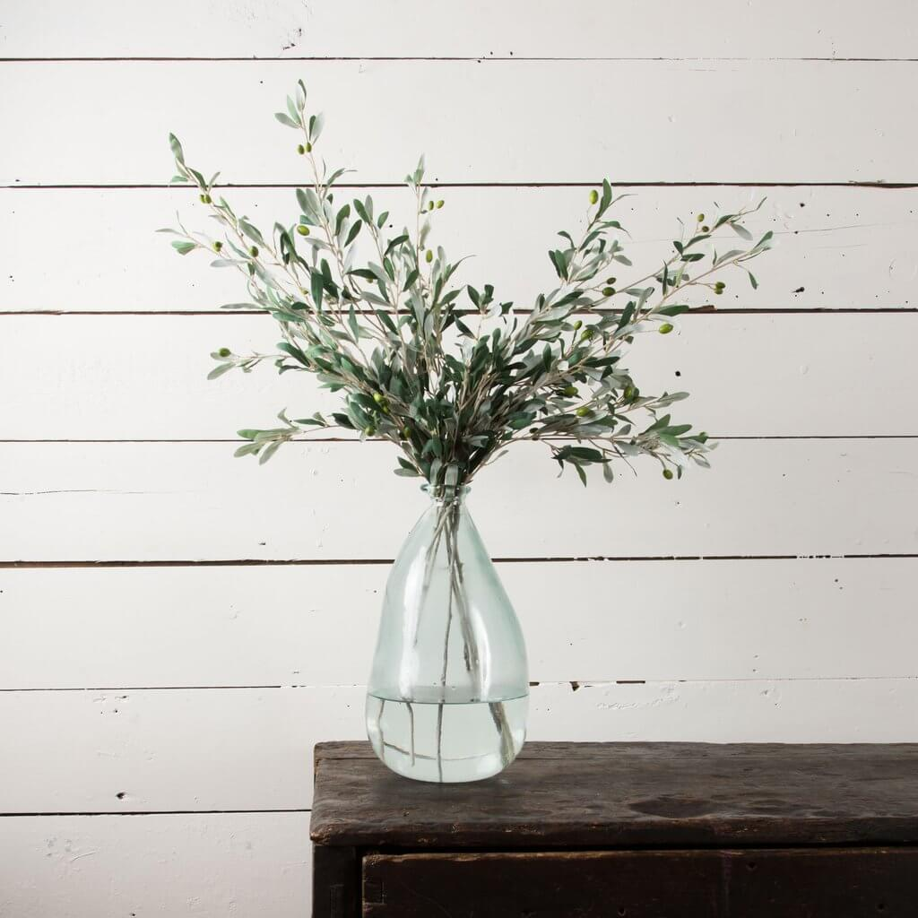 Mediterranean Farmhouse Bouquet of Olive Stems