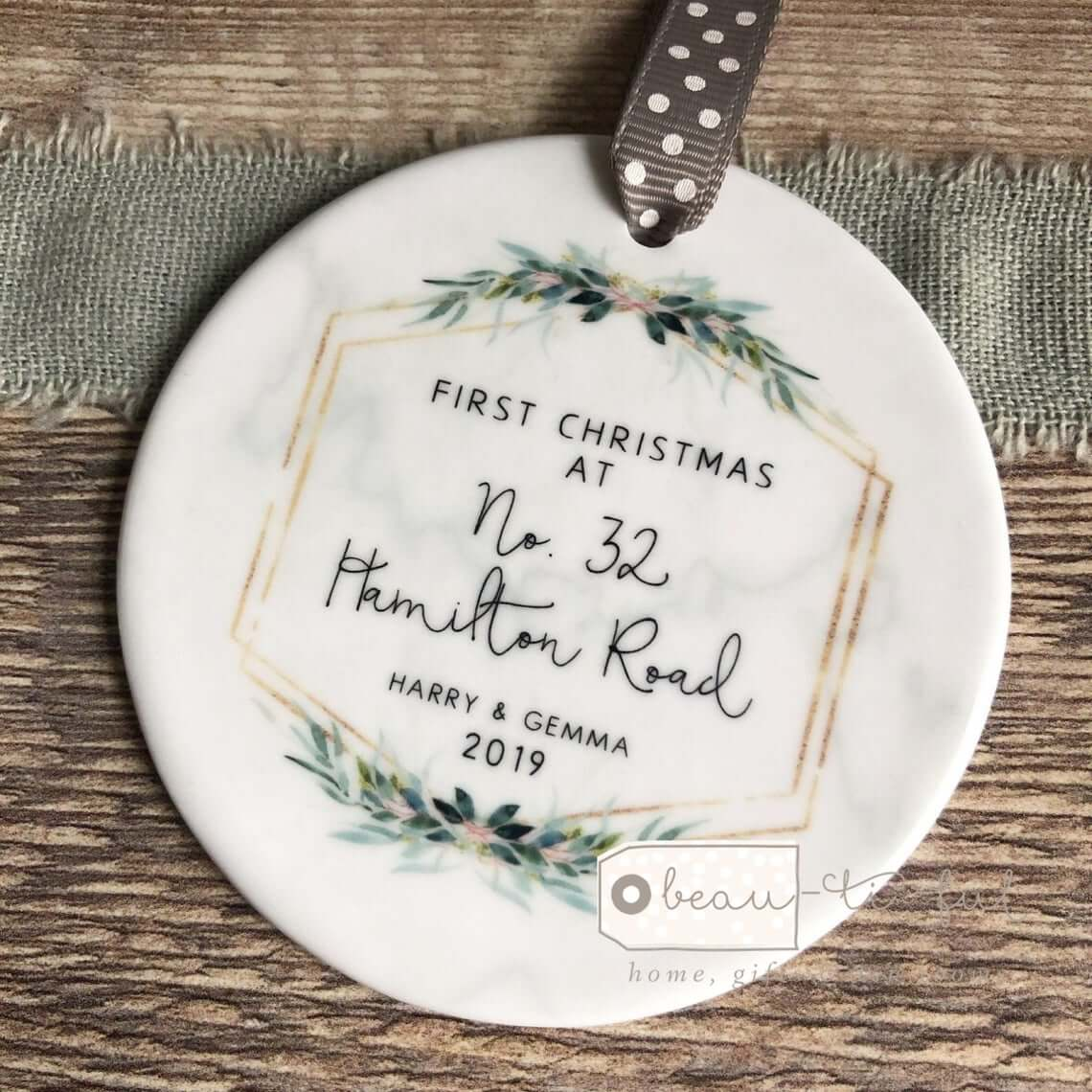 Commemorative Ornament for Holiday Decoration