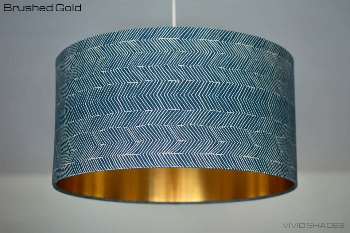 Geometric Patterned Scandinavian Lamp Shade