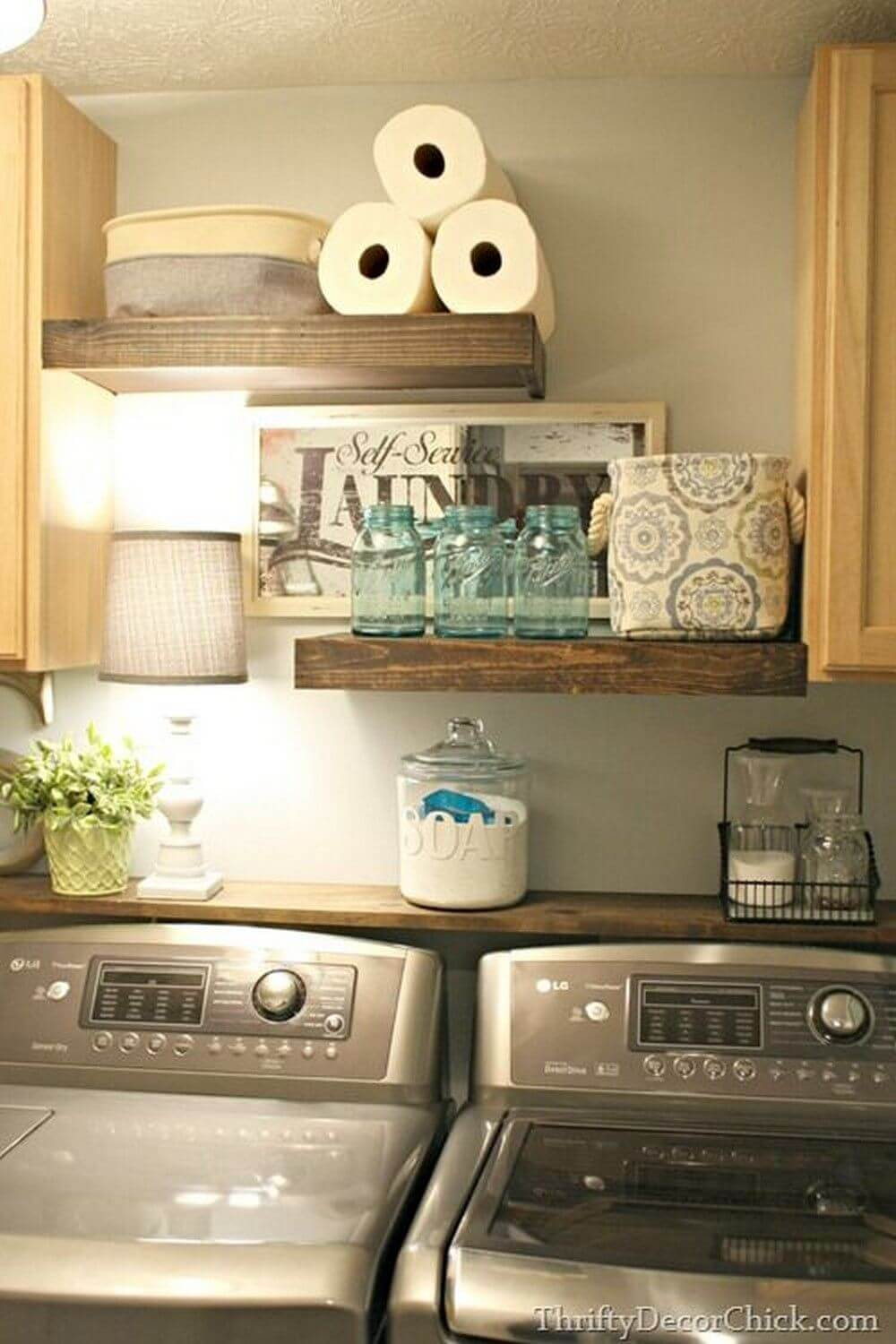 Replace a Cabinet (or Two) with Floating Shelves
