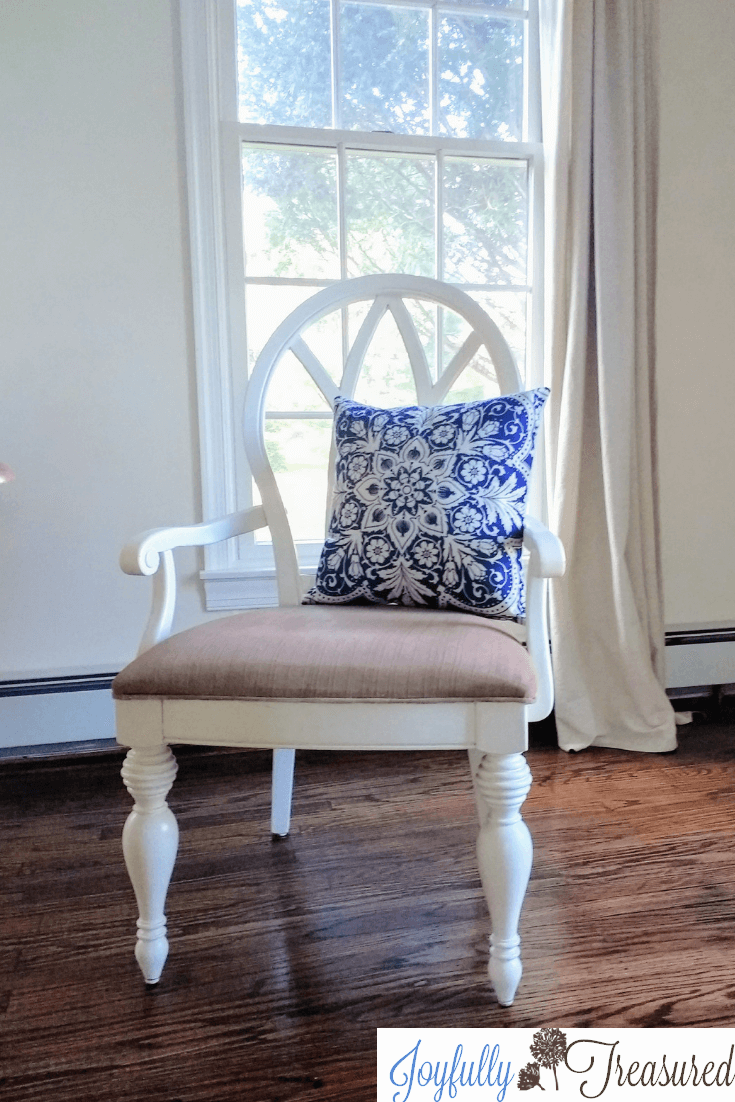 Latex Fabric Painted Upholstered Chair