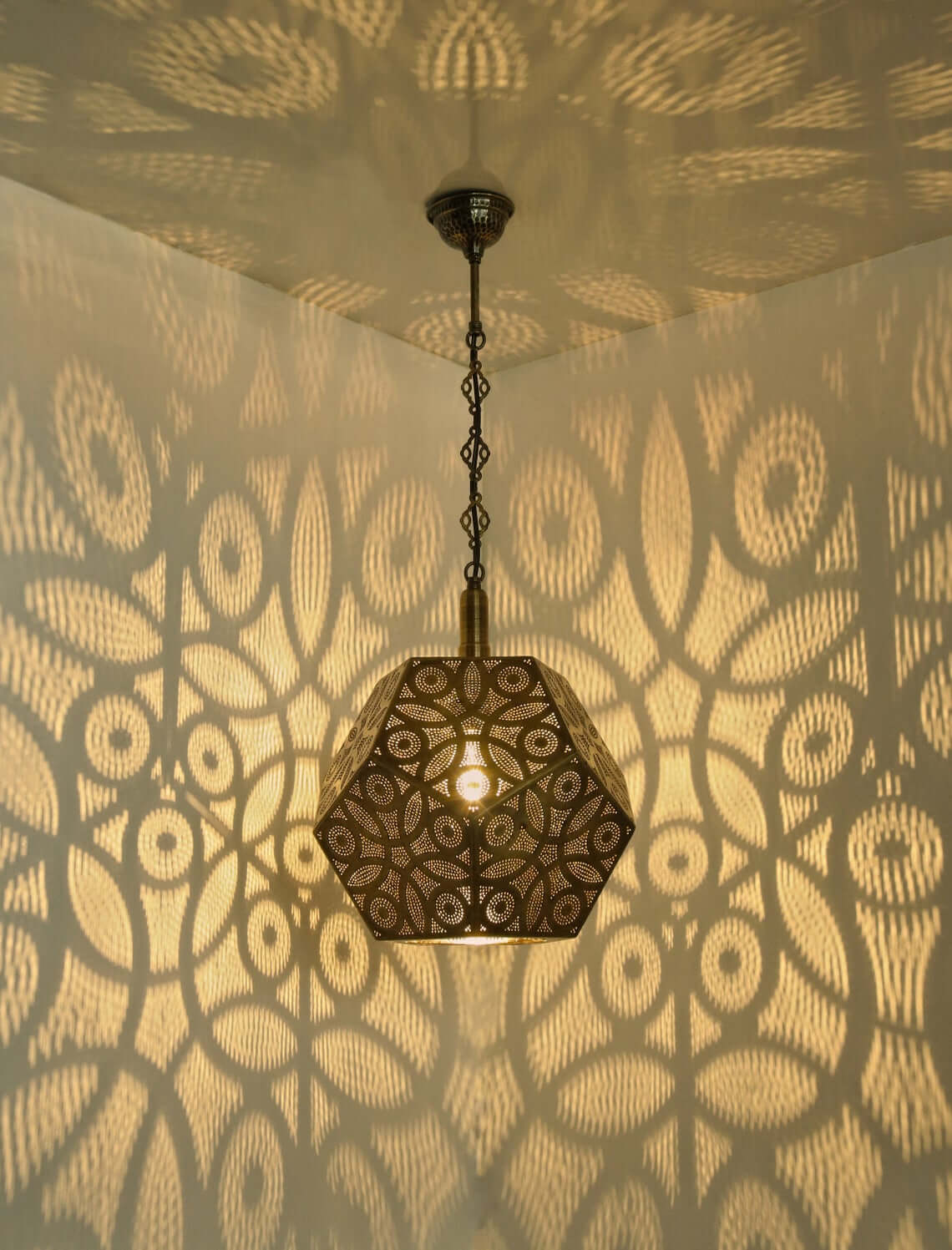 Moroccan and Turkish Pendant Lamp