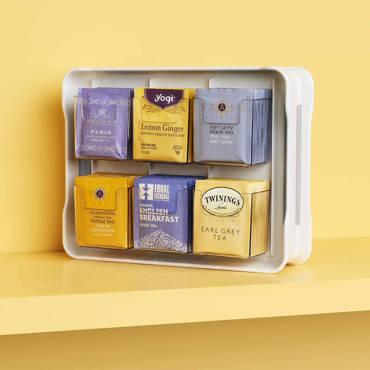 Tea Bag Holder and Display Case