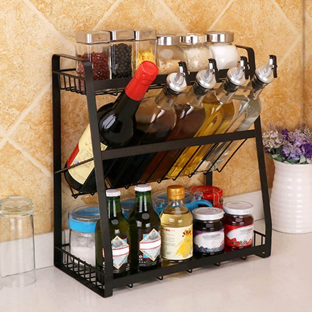Countertop Spice and Bottle Organizer
