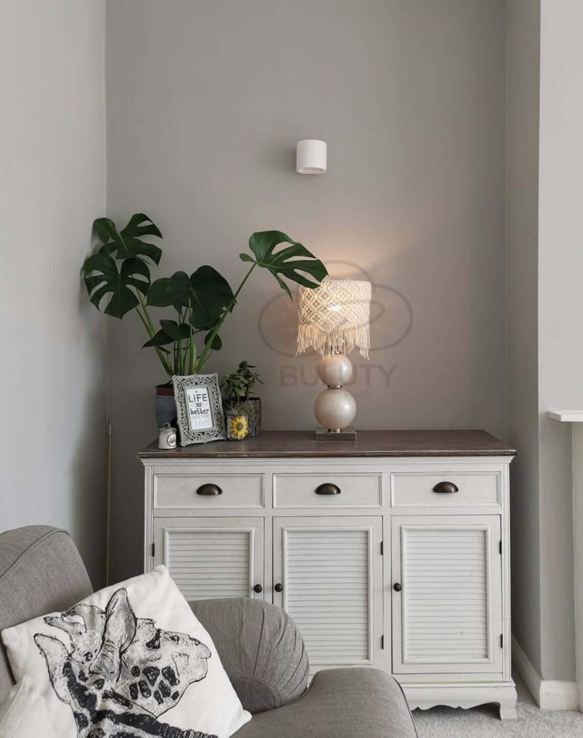 Elegant Macramé Bohemian Lamp Shade