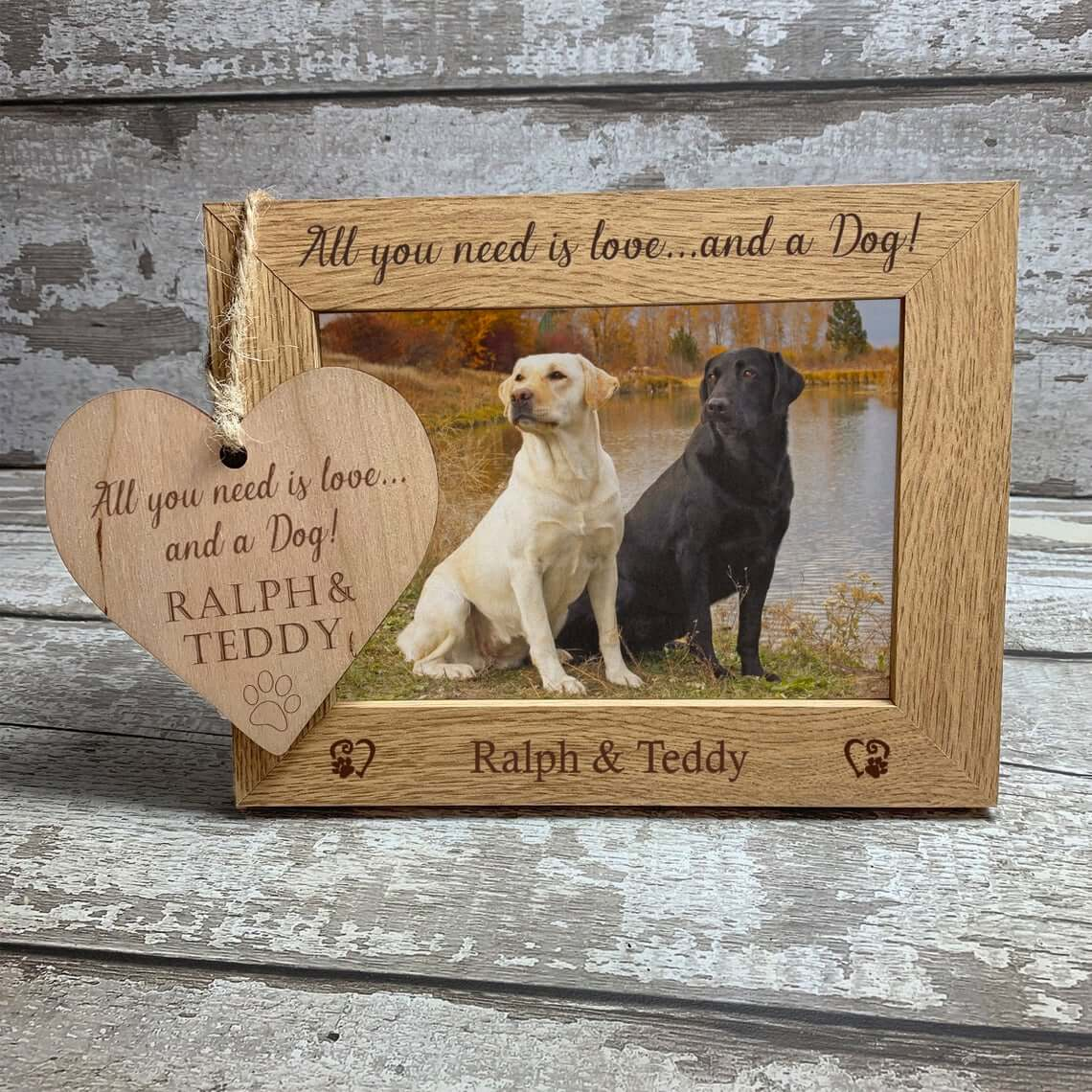 Lovely Pet Photo Frame for Home Decoration