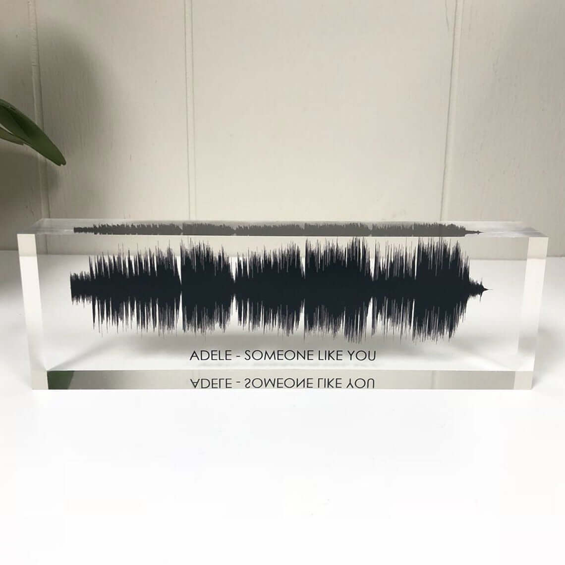 Colorful 3D Sound Wave for Livingroom Decoration