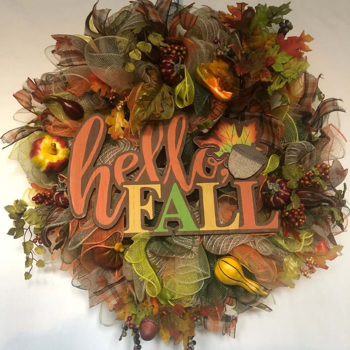 Welcome to the Season Wreath