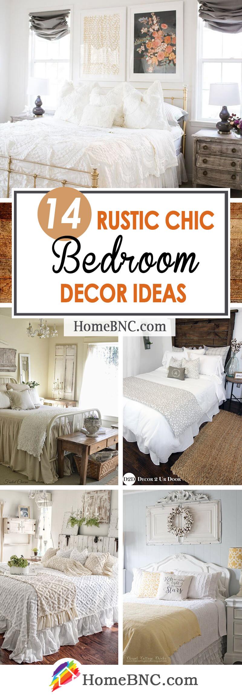 Rustic Chic Bedroom Decoration Ideas