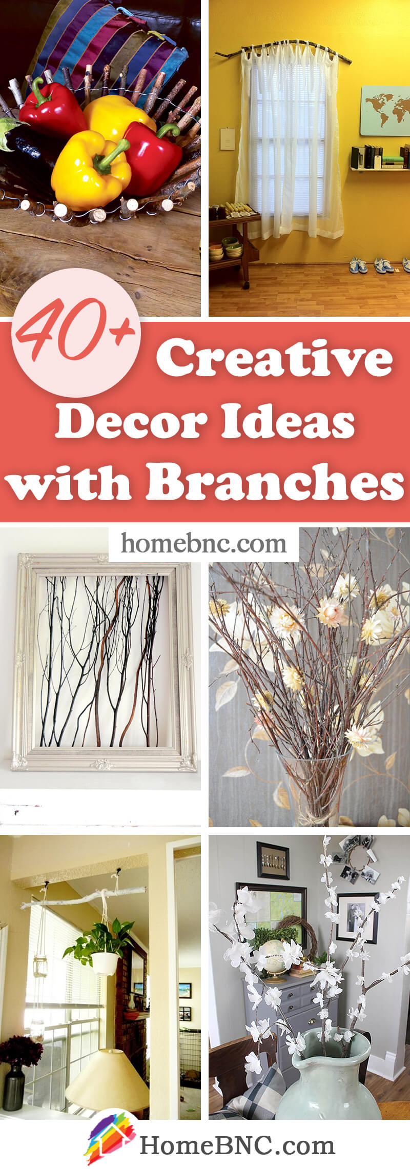 Branches Decorating Ideas