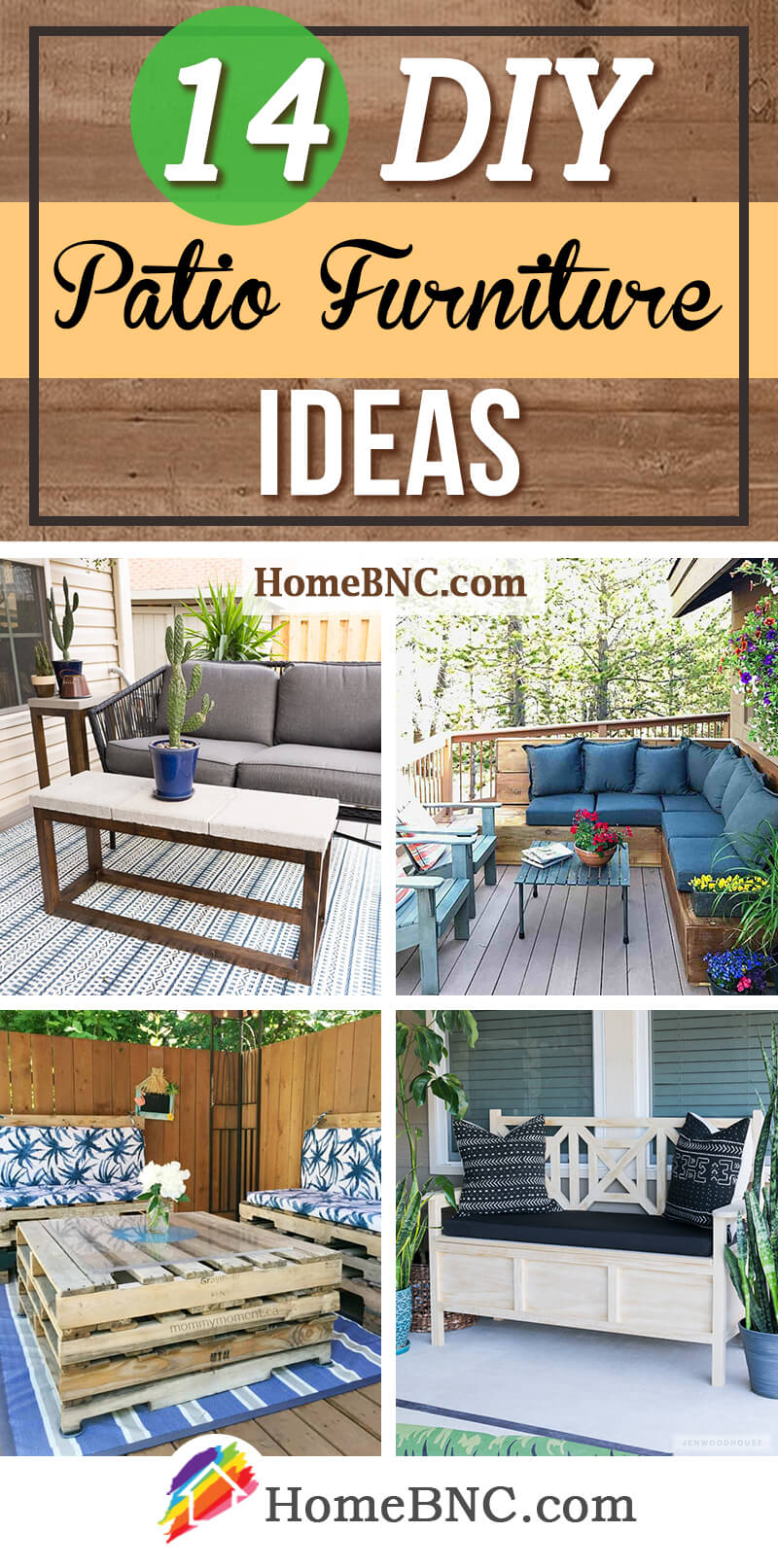 14 Best Diy Patio Furniture Ideas And Designs For 2021