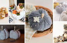 Fabric Pumpkin Decorations